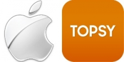 Apple стала обладателем поисковика Topsy